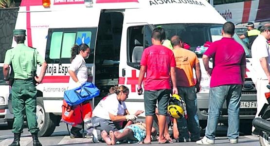 مصرع قاصر مغربي بسبتة المحتلة دهسا تحت عجلات شاحنة للنقل الدولي