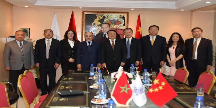 توقيع مذكرة بين جهة طنجة تطوان الحسيمة وإقليم سيشوان بجمهورية الصين الشعبية