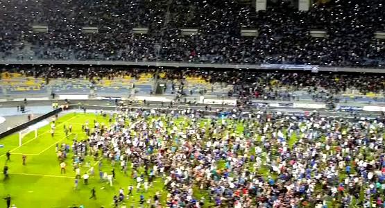 إصابة 17 عنصرا أمنيا عقب أحداث الشغب التي شهدتها مباراة ديربي الشمال