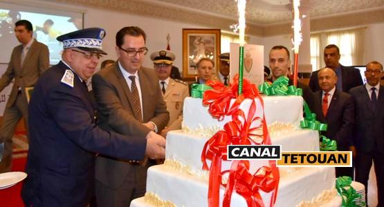 أسرة الأمن الوطني بمدينة تطوان تخلد الذكرى الـــ 62 لتأسيس الأمن الوطني