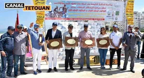 حسن بويا يتوج الفائزين في مسابقة الثرياتلون الوطني للشباب والدواتلون الوطني بمرتيل