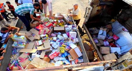مكتب السلامة الصحية يحجز 4 أطنان من المواد الغذائية الفاسدة بجهة طنجة تطوان