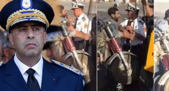 سابقة : الحموشي يستقبل السائق المعتدى عليه من طرف ضابط أمن ممتاز و يعتذر له