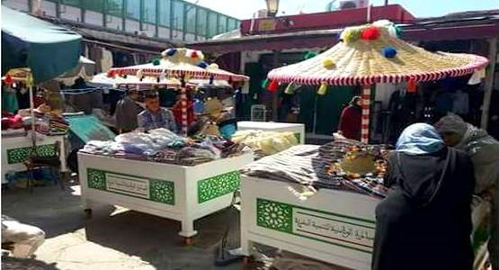 سوق الحوت القديم بالمدينة العتيقة يتزين بعربات وشاشيات الزي التقليدي التطواني