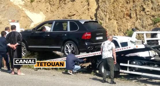 حادثة سير خطيرة بمنعرج أمسا – تطوان (شاهد الصور)