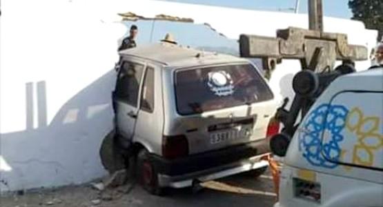 حادثة سير خطيرة بباب المقابر بتطوان (شاهد الصور)