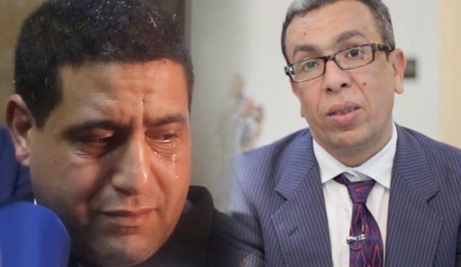 محامي بهيئة تطوان يذرف الدموع بعد الحكم على المهداوي