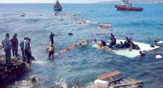 عودة مغربيين سباحة عبر سبتة .. والحرس المدني الاسباني يحبط العملية