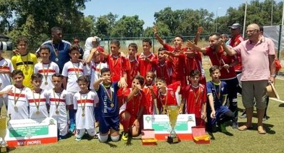 فريق براعم المغرب التطواني وصيف البطولة الوطنية لأقل من 12 سنة
