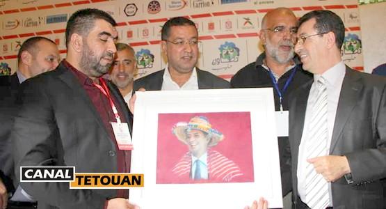الرئيس الجديد لفريق المغرب التطواني (شاهد الصور)