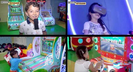 جديد بمرتيل … قاعة للألعاب المتطورة Manga Parc بالمركز التجاري مارتيل سانتر (شاهد الفيديو)