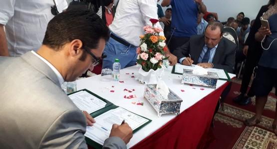 جماعة مرتيل توقع عقدا جديدا لتفويض تدبير قطاع النظافة لشركة ميكومار