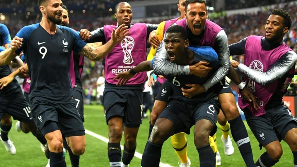 فرنسا تهزم المنتخب الكرواتي وتتوج بطلة لكأس العالم 2018