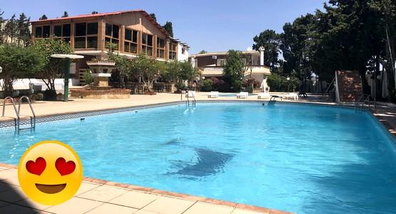 """مسبح """"Nardina Golden"""" بمنطقة الملاليين بتطوان يفتح أبوابه في وجه الزوار (شاهد الصور)"""
