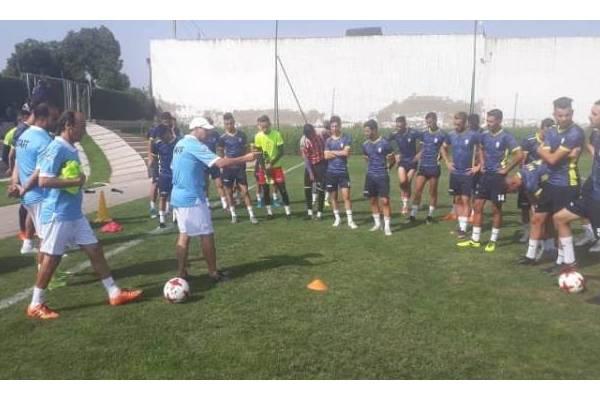 المغرب التطواني ينهي تربصه بآخر مباراة إعدادية