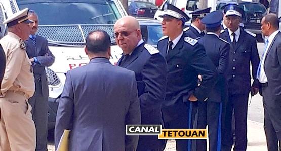 """تعيين عميد الشرطة الممتاز """"أوخويا"""" رئيسا للمعبر الحدودي باب سبتة"""