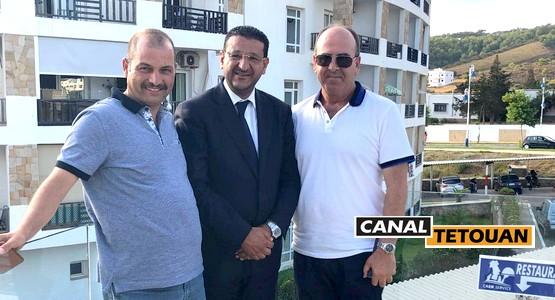 على عكس ما تم الترويج له .. العربي المرابط يجتمع مع الأمين العام لحزب الـPAM بالمضيق
