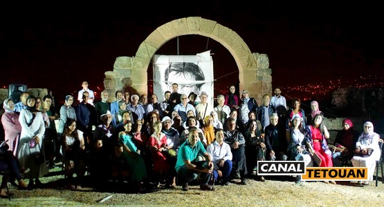 قصائد وصور محمود درويش أعادت الحياة إلى موقع تمودة الأثري بتطوان (شاهد الصور)