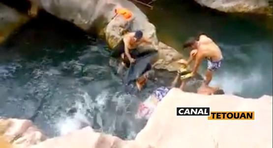 """مصرع شخص غرقـا بمسبح """"البريما والكسكاس"""" بمدينة تطوان (+صور)"""