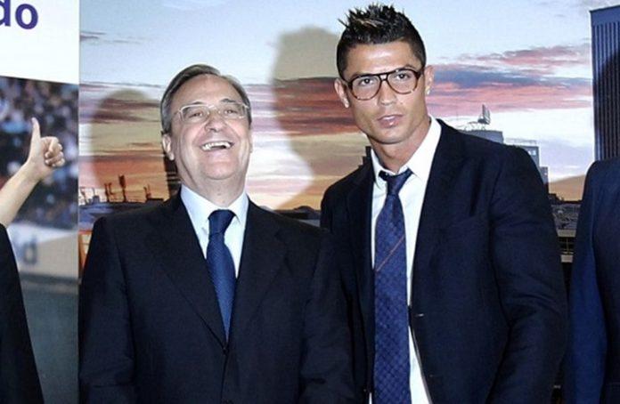 """تصريح """"مهين"""" من رئيس ريال مدريد ضد رونالدو"""