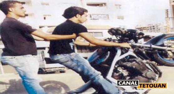 عمالة المضيق الفنيدق: فوضى الدراجات النارية بالقرب من المؤسسات التعليمية