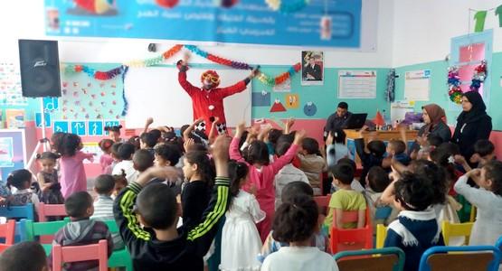 مؤسسات التعليم الأولي بمرتيل وسيلة لزرع حب المدرسة في البراعم