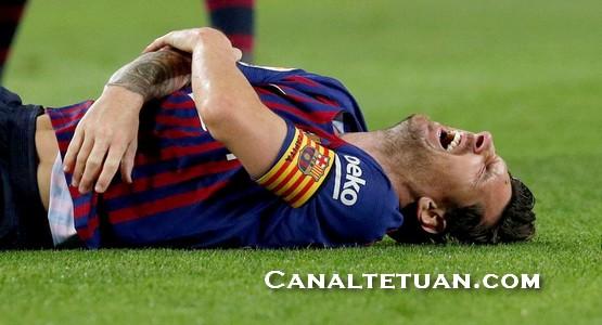 نادي برشلونة يعلن عن مدة غياب نجمه الأرجنتيني ليونل ميسي !