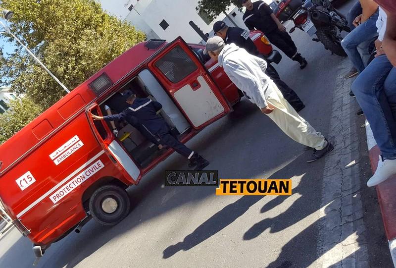 حادثة سير خطيرة بين حافلة فيتاليس وسيارة ستروين بتطوان (شاهد الصور)