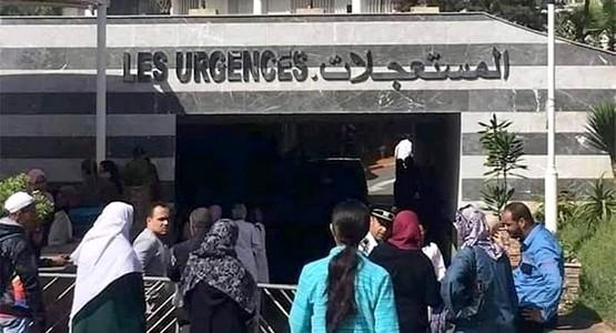 """المواطنين يتوافدون على مراكز تحاقن الدم بجهة الرباط للتبرع لجرحى """"فاجعة القطار"""""""