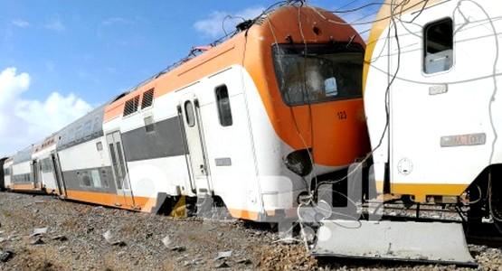 """سائق """"القطار"""" ينجو من موت محقق !"""
