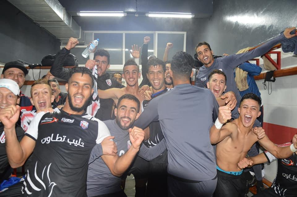 المغرب التطواني يحقق فوزا ثمينا على فريق الفتح الرباطي خارج الديار