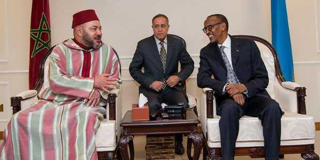 الملك يجري مباحثات هاتفية مع رئيس رواندا الرئيس الحالي للاتحاد الافريقي