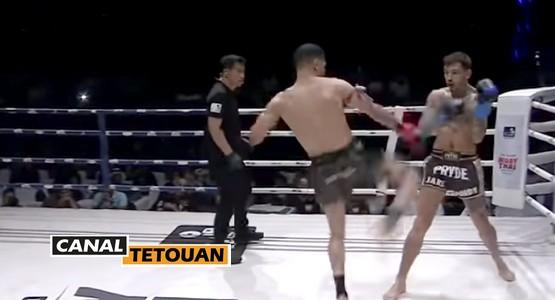 بحضور ابوزعيتر … ابن الفنيدق يوسف بوغانم يفوز على البطل البريطاني بالضربة القاضية (شاهد الفيديو)