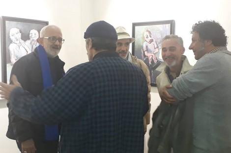 """رواق """"بيرتوتشي"""" بتطوان يستضيف أعمال الفنان التشكيلي يوسف الحداد"""