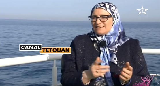 """الأديبة التطوانية سعاد ناصر في ضيفة برنامج """"متألقات"""" (فيديو)"""