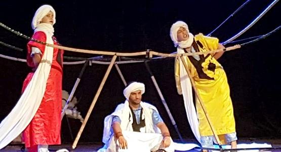 عرض مسرحية الخالفة في مهرجان تطوان