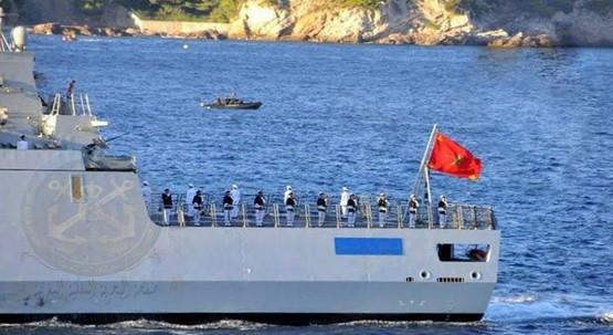 """البحرية الملكية تقدم المساعدة لـ181 """"حرّاك"""" بعرض المتوسط"""