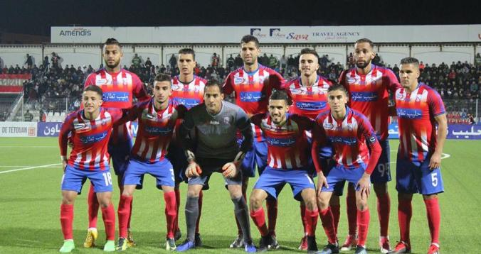 المغرب التطواني يفسخ عقد 3 لاعبين