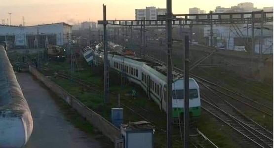عاجل … خروج قطار عن السكة بمحطة الميناء البيضاء