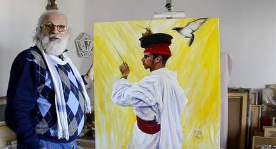 بن يسف يعرض جديد أعماله الفنية بمدينة تطوان