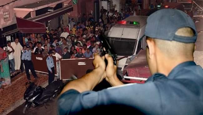 """أصيلة.. عميد شرطة يستخدم سلاحه الوظيفي لتوقيف شخص """"خطير"""""""