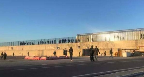 فيديو اَخر يوثق مواجهات عنيفة بين مغاربة وجزائريين في سبتة والسبب!