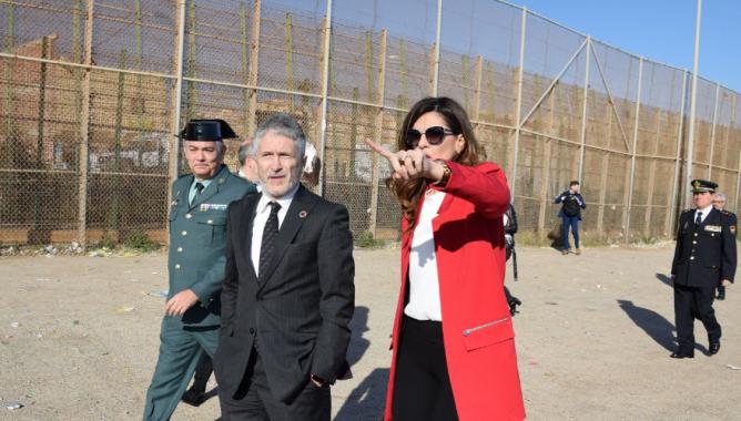 بعد سبتة .. إسبانيا تقرر الرفع من علو السياج الحدودي بمليلية المحتلة