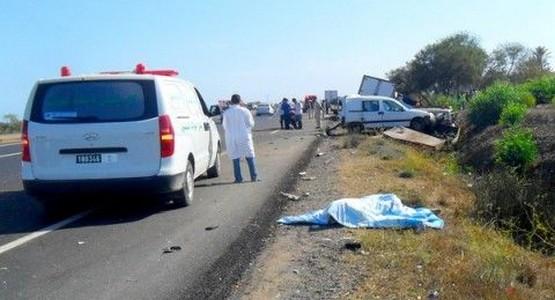 سائق متهور يتسبب في وفاة شخص ضواحي تطوان ويلوذ بالفرار