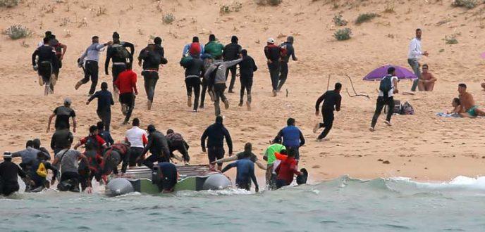 عدد المهاجرين غير الشرعيين الذين وصلوا إلى إسبانيا في 2018 بلغ 60 ألف شخص