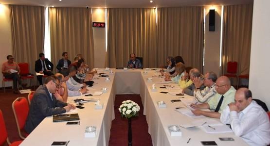 اجتماع مشترك استعدادا للدورةالعادية لمجلس جهة طنجة تطوان الحسيمة
