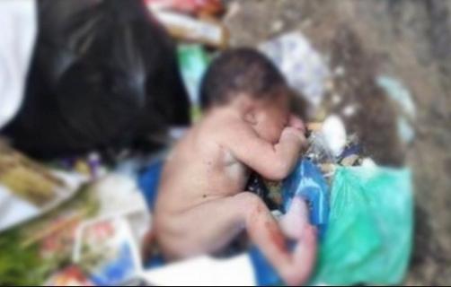 العثور على جثة رضيع حديث الولادة مرمية بحاوية للأزبال بطنجة