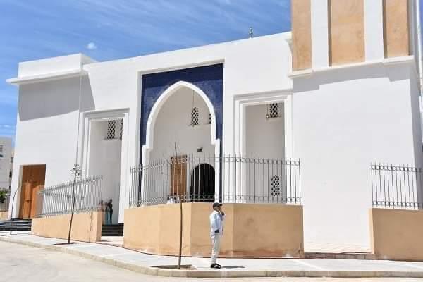 الوالي مهيدية يفتتح مسجدا جديدا بحي باب سبتة بالفنيدق