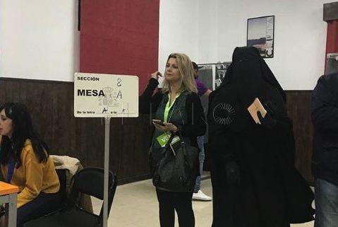 هذا هو قرار هيئة الانتخابات في سبتة بشأن مشاركة المنقبات في عملية التصويت