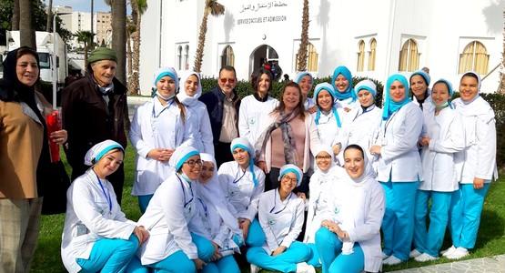 معهد تكوين الممرضين Santé Plus بتطوان يفتح باب التسجيل (شاهد الصور)